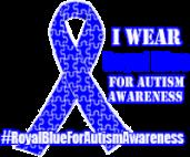 RoyalBlueForAutismAwareness