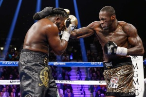 Deontay Wilder dominates Stiverne gets UD win and is crowned new Heavyweight champ