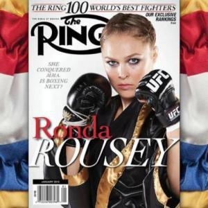 Ronda Rousey Ring Magazine
