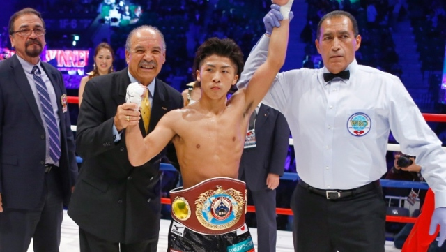 Naoya Inoue vs Warlito Parrenas English Commentary (WBO Super Flyweight 12/29/2015)